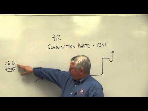 Combination Waste & Vents