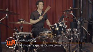Warm Audio // Glen Sobel Recording Drums with Barry Pointer of Riott House Studio