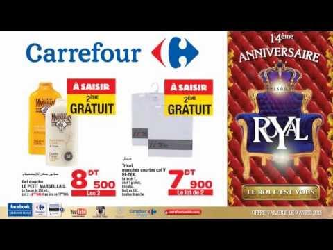 Offre du 09 avril 2015 à Carrefour