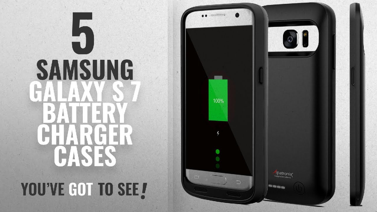 brand new d26c6 44ab5 Samsung Galaxy S 7 Battery Charger Cases [2018 Best Sellers]: Galaxy S7  Battery Case, Alpatronix