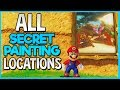 Super Mario Odyssey: All Secret Path Locations (Hidden Painting Locations)