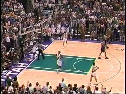 Lakers at Jazz  Game 5  '97 Conference Semifinals  51297 Highlights