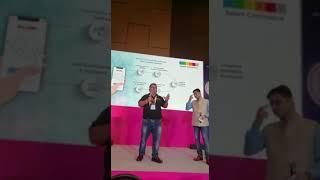 Karunjit Kumar Dhir Co- founder SCIKEY presenting at the #TechTalk at #SHRMtech19.