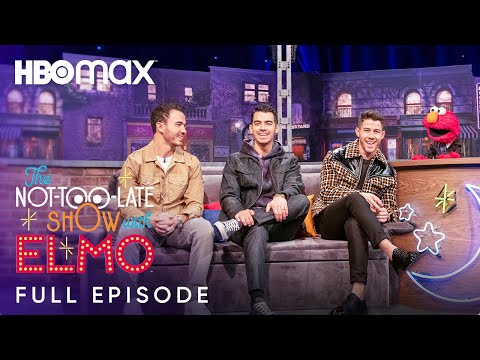 The Not-Too-Late Show With Elmo Preview Featuring The Jonas Brothers And Bonus Content | HBO Max