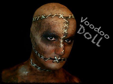 STITCHED UP VOODOO DOLL! - Halloween Makeup Tutorial