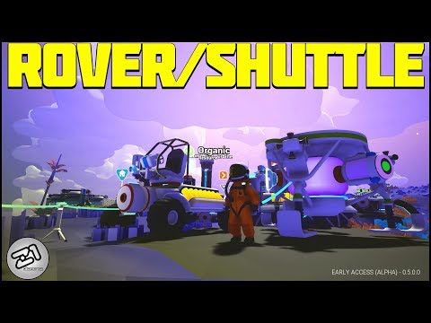 Shuttle and Rover ! Astroneer Research Update Ep 3 ! Lets Play Astroneer Gameplay   Z1 Gaming