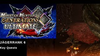 Monster Hunter Generation Ultimate JR 6 alle Key Quests