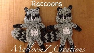 Rainbow Loom: Raccoon: How To