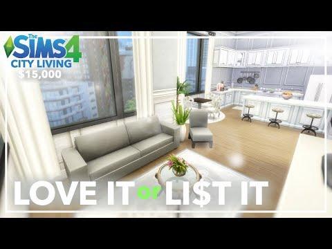 LOVE IT or LIST IT: 920 Medina Studios ~ Sims 4 Renovation (Base Game + City Living)