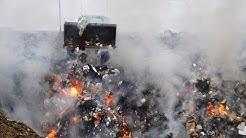 Veterans harmed by burn pits