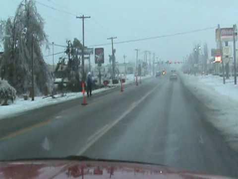 Malden MO Ice storm 09