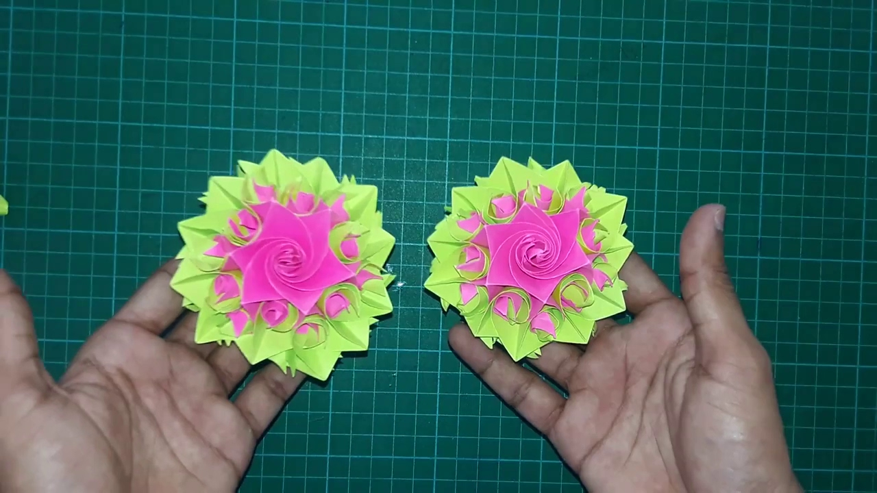How To Make Paper Flower Beautiful Origami Flower Diy Flowers