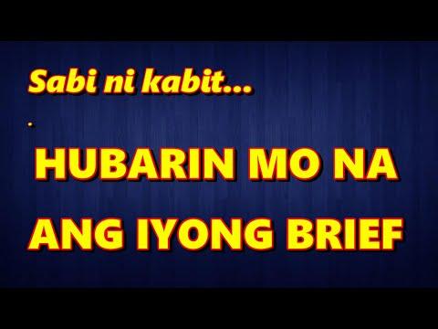 Download HUBARIN MO NA ANG IYONG BRIEF (Parody Song) - Alexander Barut