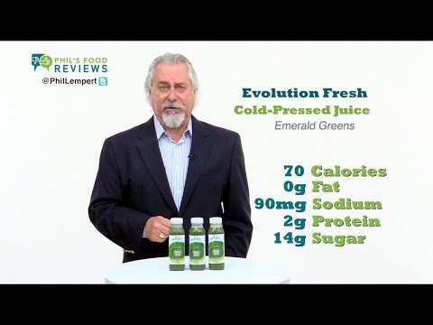 Evolution Fresh Cold-Pressed Juice Emerald Greens 7/2
