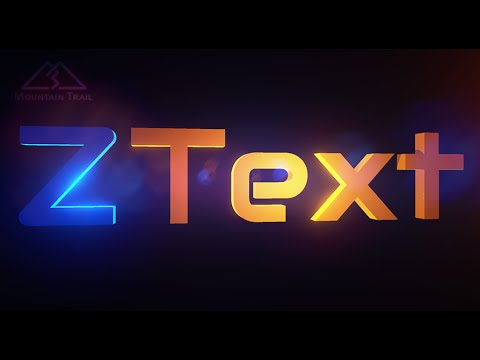 ZText - 3D text asset for Unreal Engine 4