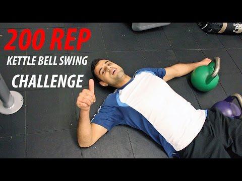 200 REP KETTLEBELL SWING CHALLENGE
