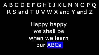 Songs - The ABC Song - Primer English from AmericanEnglish