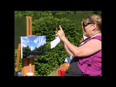 Painting the West Cornwall Covered Bridge