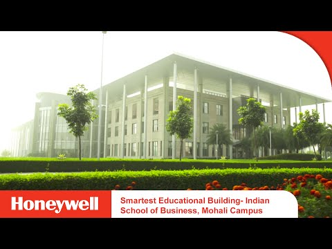 Smartest Educational Building- Indian School of Business, Mohali Campus | Honeywell