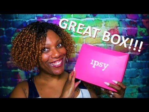 IPSY GLAM BAG PLUS April 2019!!!  Pretty BOMB Box!! thumbnail