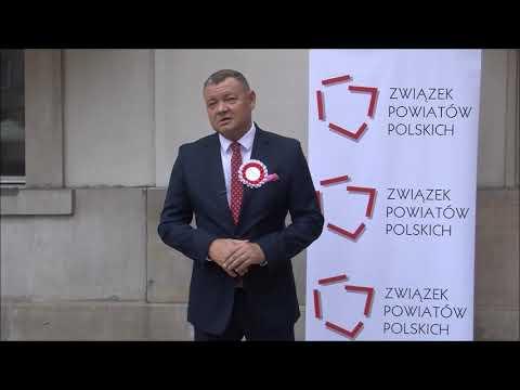 Roman Potocki, Przewodniczący Konwentu Powiatów Województwa Dolnośląskiego, Starosta Wrocławski