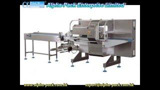 AHP-700-3S-BBM Bottom Film Flow Wrapper