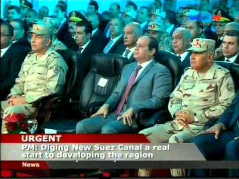 President Al Sisi Inspects East Port Saeid Development Project
