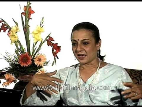 Tanuja Mukherjee, mother of Kajol, speaks of Bollywood and her journey