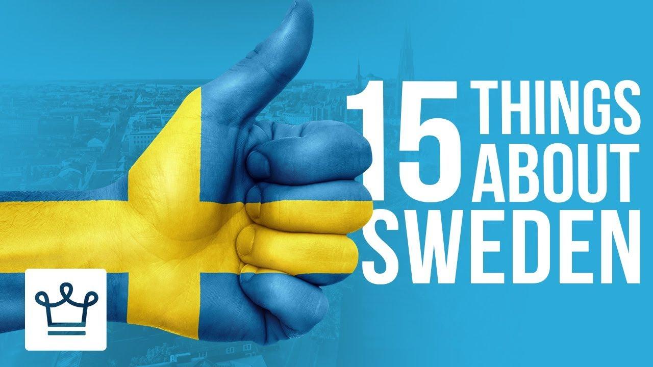 15 работи кои не сте ги знаеле за Шведска