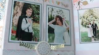 Свадебный альбом.Скрапбукинг. Бумага   Bliss  от MME