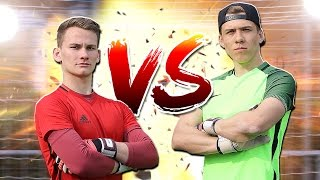 KEEPERBATTLE mit T1TAN REBEL ft. Football4Broz