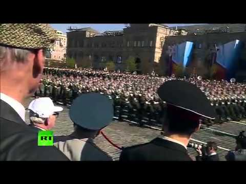 Victory Day Parade, 2013 Парад Победы (No Commentary, No Voice-Over)