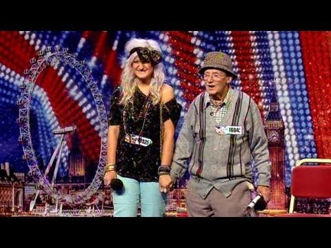 Ted and Grace - Britains Got Talent 2011 Audition