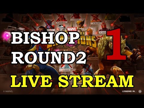 Bishop Round 2 - Part 1 | Marvel Contest of Champions Live S