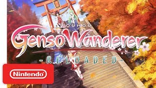 Touhou Genso Wanderer Reloaded Announcement Trailer - Nintendo Switch
