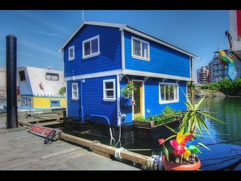 Fishermans Wharf Victoria BC | Float homes for sale | Victoria Realtor Stephen Foster