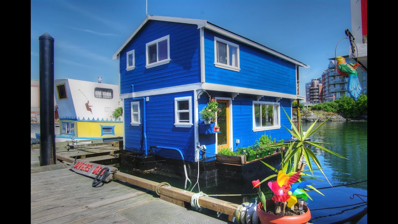 Unique Tiny Houses Fishermans Wharf Victoria Bc Float Homes For Sale