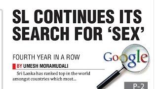 SL tops Google's 'sex' search list again