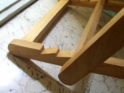 how to make a rocking chair orange slipper royal -kerala made - youtube