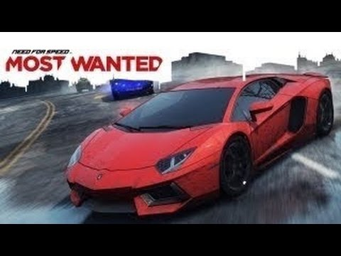 Need For Speed Most Wanted- LAMBERGHINI AVENTADOR (android)