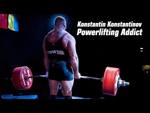 Konstantin Konstantinov. Powerlifting Addict.