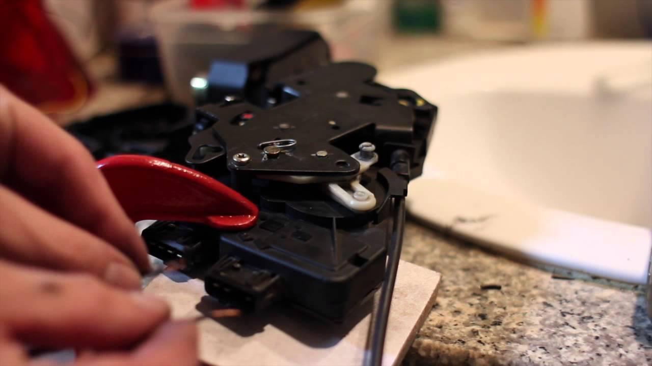 V70 Door Lock Actuator Test Youtube