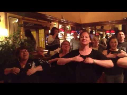 Watch this!! In a pub in Sherbourne Maori wedding guests do a impromptu Haka