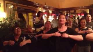 Watch this!! In a pub in Sherbourne Maori wedding guests do a impromptu Haka thumbnail
