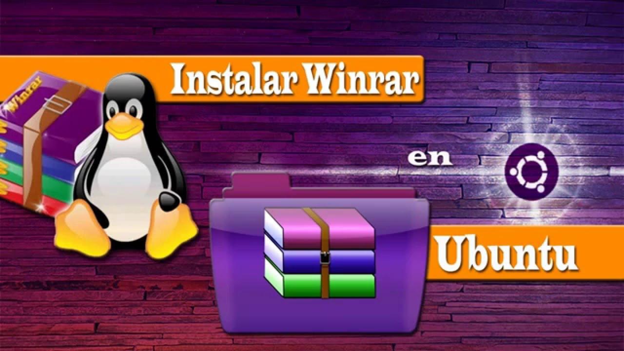 Winrar para Ubuntu 15 04 - 2016