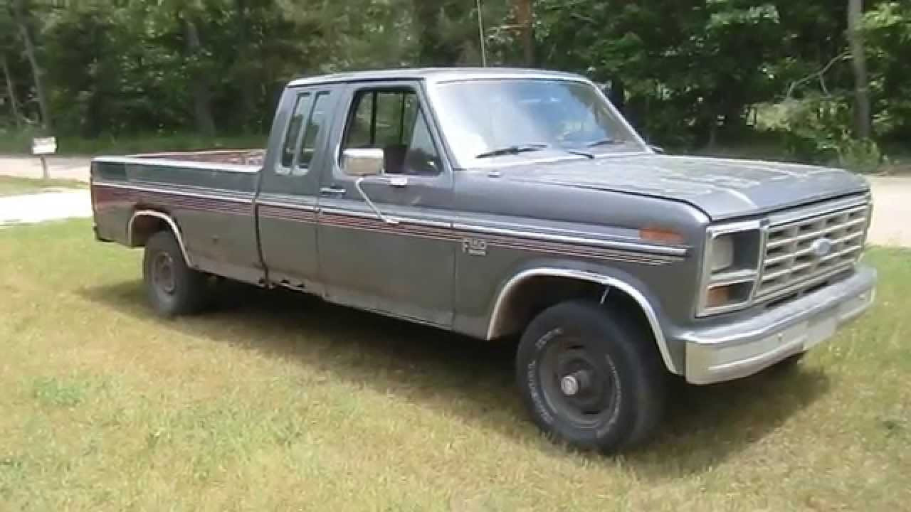 1986 ford f150 pickup truck 5 0l 302 4x4 youtube