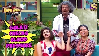 Gulati Checks Lara & Prachi's Blood Pressure - The Kapil Sharma Show