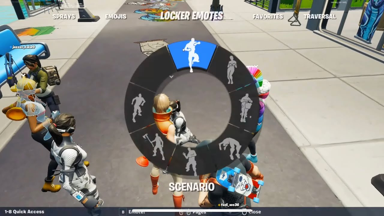 Download Party Royale Player tried flexing on me but I had all his emotes
