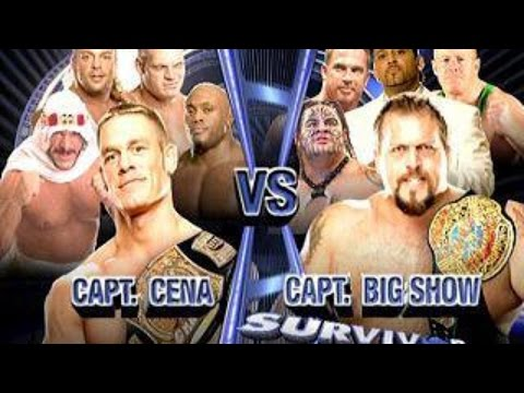 Team Cena vs Team Big Show Highlights - Survivor Series 2006