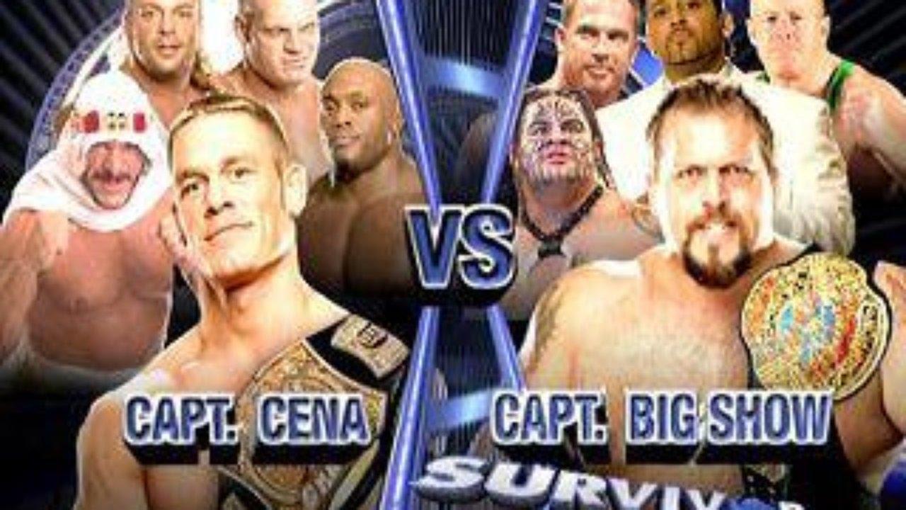 Team Cena Vs Team Big Show Highlights - Survivor Series 2006 - Liverwrestler - TheWikiHow